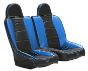 Twisted Stitch Vortex V4.0 Seats For Polaris RZR