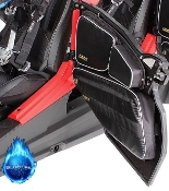 Upper / Lower RZR Door Bag w/ Knee Pad