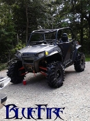 "BlueFire's ""Rib Cage"" RZR Roll Cage"