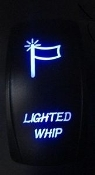 Lighted Whip Switch