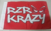 RZR Krazy Whip Flag