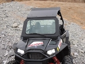RZR Full windshield with vent