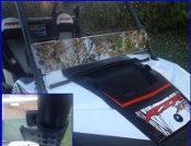 RZR XP1K and 2015 RZR 900 Half Windshield/ Wind Deflector
